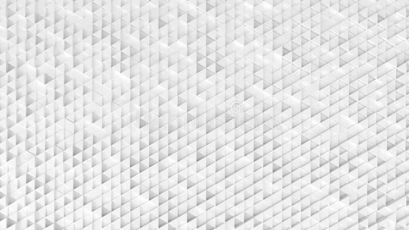 Fundo de papel geométrico do sumário dos triângulos pequenos ilustração do vetor