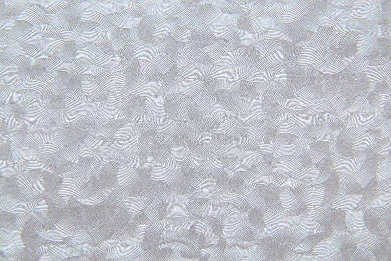 Fundo de papel Textured com efeitos de superfície de prata cinzentos fotos de stock