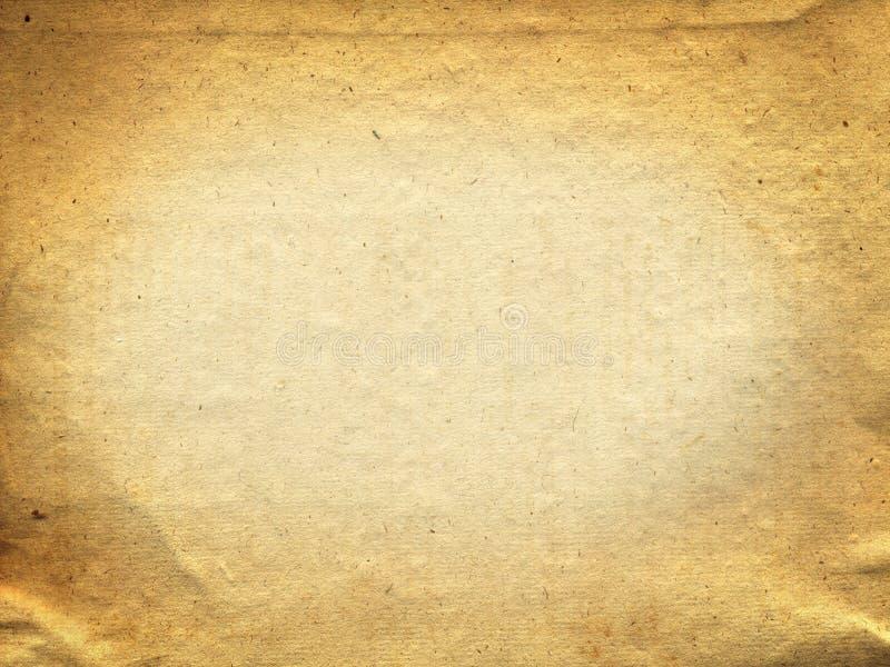 Fundo de papel velho da textura ilustração stock