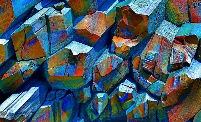 Fundo de pedra abstrato foto de stock