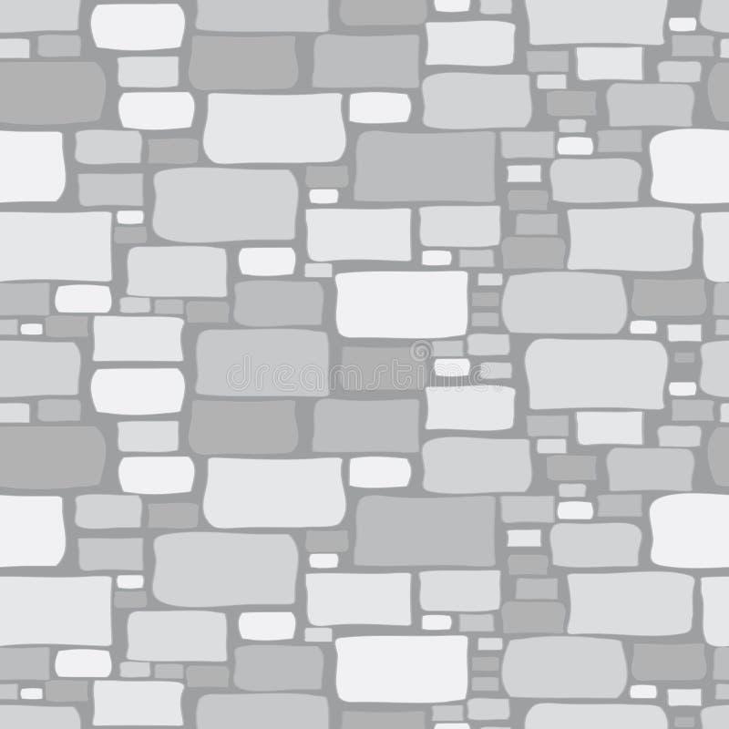 Fundo de pedra cinzenta do desenho ilustração stock