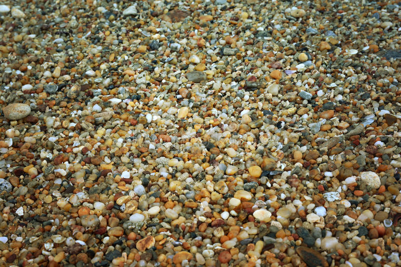 Fundo de pedra da rocha do seixo fotografia de stock