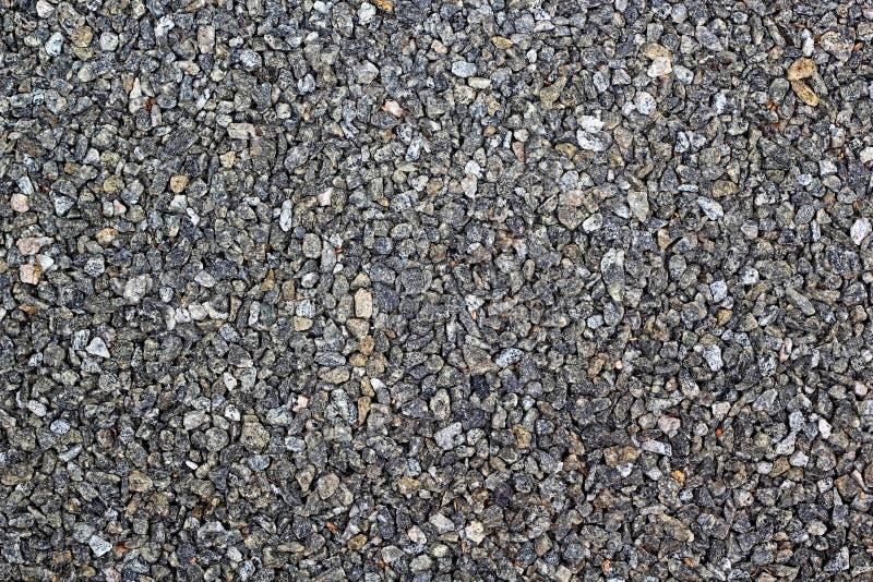 Fundo de pedra do cascalho do granito foto de stock