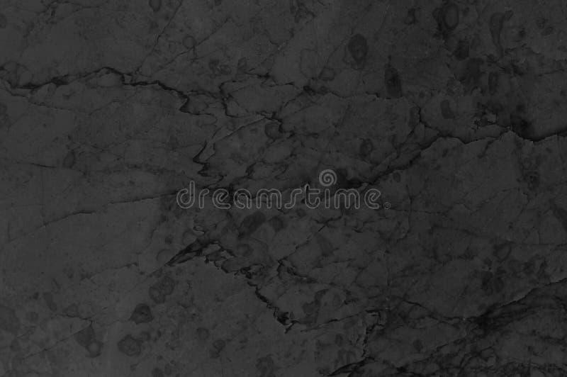 Fundo de pedra de mármore preto ou cinzento Mármore cinzento escuro, contexto da textura de quartzo Teste padrão natural da pared foto de stock royalty free