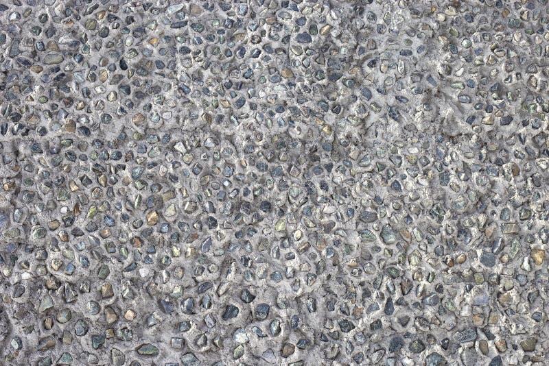 Fundo de pedra, pedras Teste padrão das pedras Textura esmagada das pedras imagem de stock royalty free