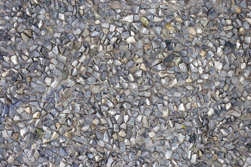 Fundo de pedra, pedras Teste padrão das pedras Textura esmagada das pedras fotos de stock