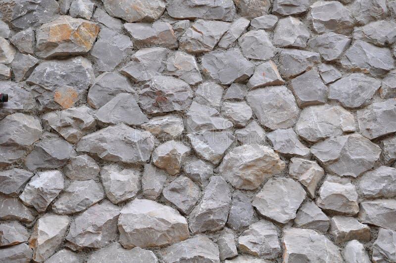 Fundo de pedra redondo da natureza foto de stock