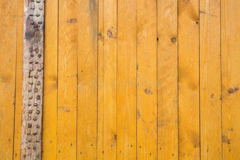 Fundo de placas pintadas amarelo fotografia de stock