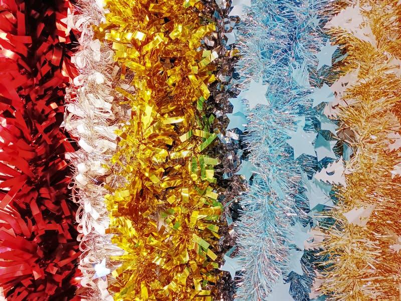 Fundo de Pom Pom Brushes colorido para a decoração festiva fotografia de stock royalty free