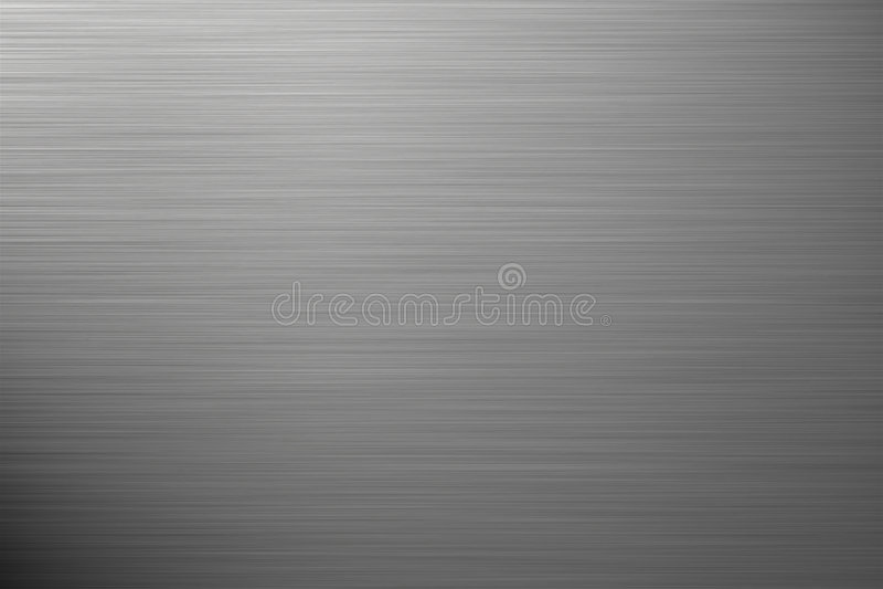 Fundo de prata de alumínio ilustração royalty free