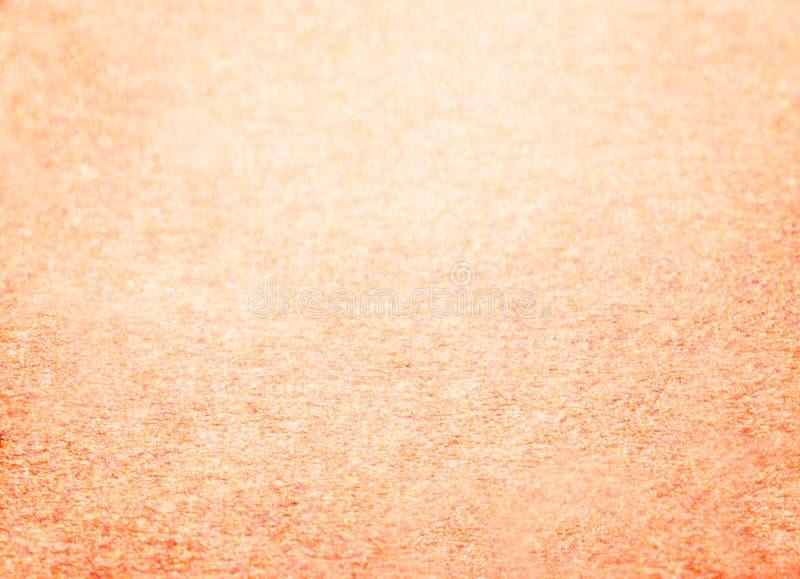Fundo de Rose Gold Glitter do ano novo do Natal Tela abstrata da textura do feriado Elemento, flash foto de stock