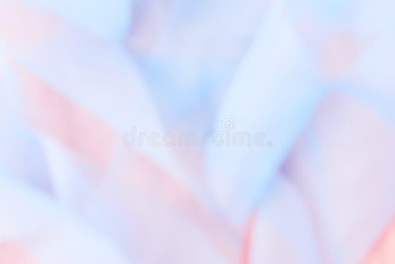 Fundo de seda azul e cor-de-rosa da luz abstrata macia - imagens de stock