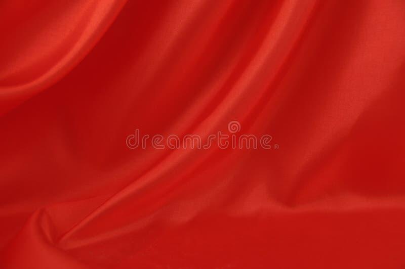 Fundo de seda vermelho 2 fotos de stock