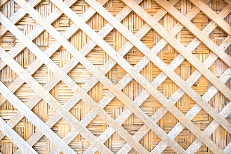 Fundo de tecelagem da textura da madeira De madeira está a linha reta cortada ligada imagens de stock royalty free