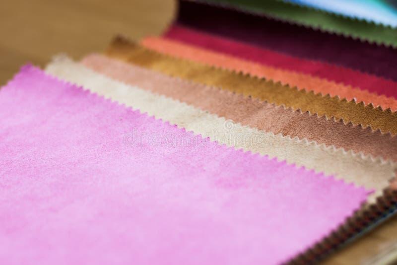Fundo de telas coloridas imagem de stock
