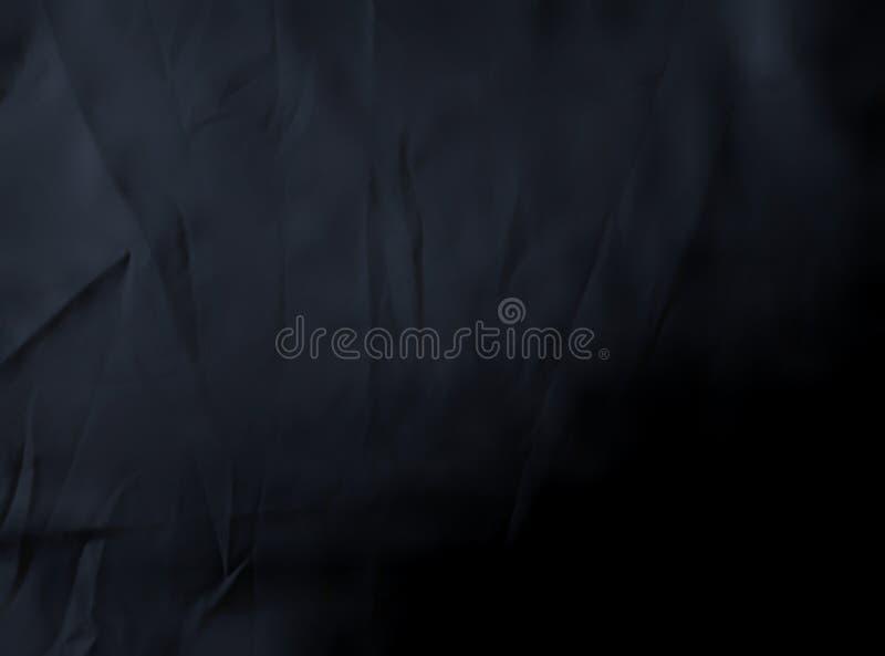 Fundo de textura do pano preto Superfície do tecido viscose em forma de guincho foto de stock royalty free