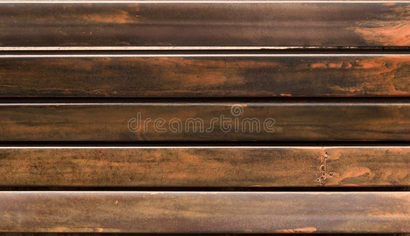 Fundo de textura do tipo granulado de metal linear, papel de parede foto de stock