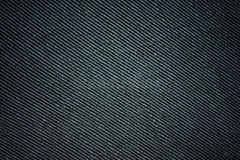 Fundo de textura preta, textura de jeans, tecido Fundo de jeans Denim imagens de stock