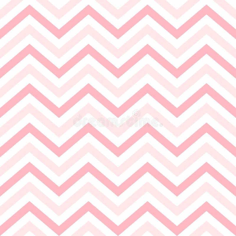 Fundo de Valentine Day Pink Geometric Seamless, teste padrão, textura para bater o papel, cartões, convite, baners ilustração royalty free