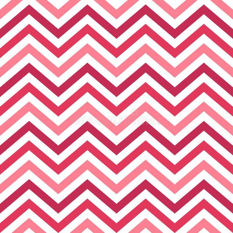 Fundo de Valentine Day Pink Geometric Seamless, teste padrão, textura para bater o papel, cartões, convite, baners ilustração stock