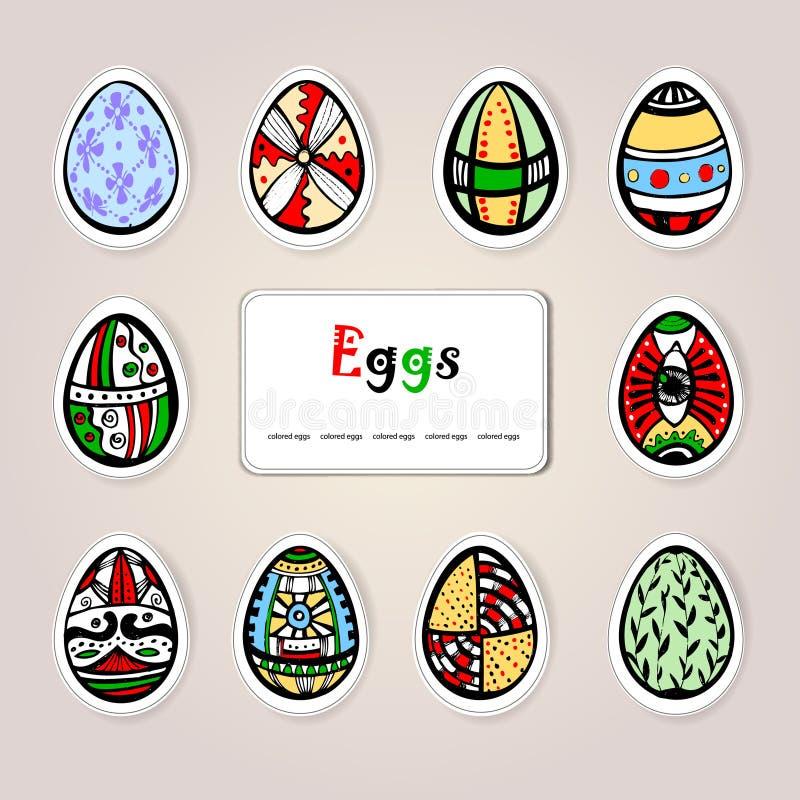 Download Ovos do feriado de Easter ilustração do vetor. Ilustração de prado - 29834870