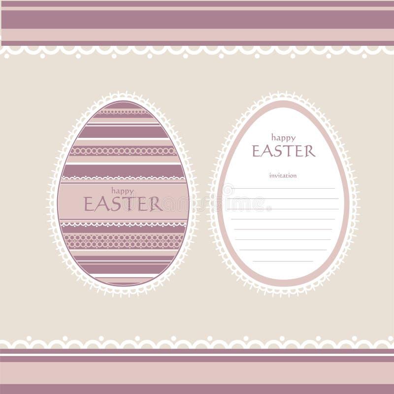 Download Cartão Do Convite De Easter Ilustração do Vetor - Ilustração de pintura, nave: 29834907