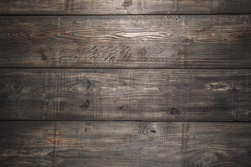 Fundo decorativo de madeira preto da textura Close-up pl imagem de stock royalty free