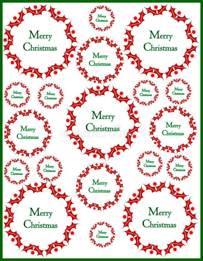 Fundo decorativo do Natal imagem de stock royalty free