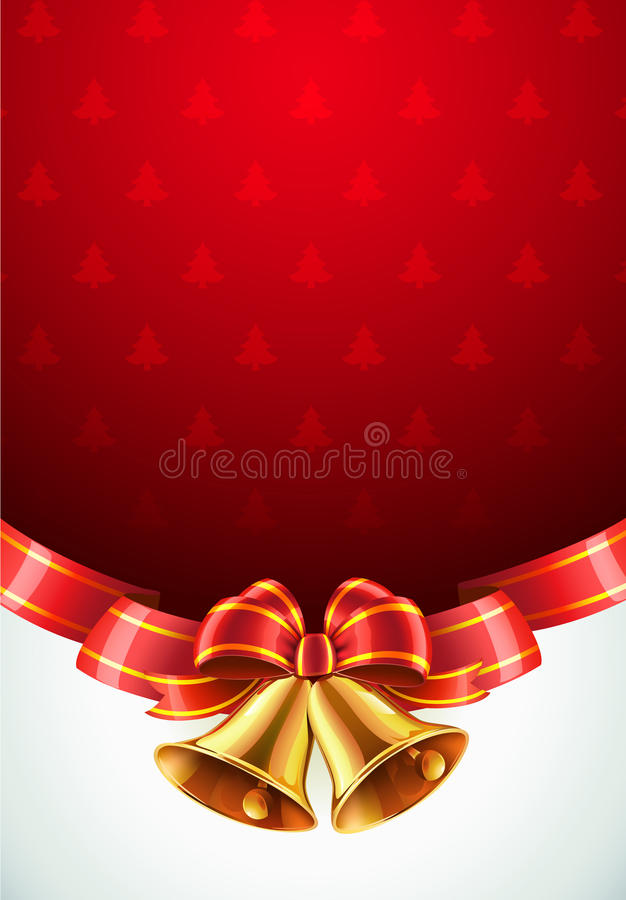 Fundo decorativo do Natal ilustração do vetor