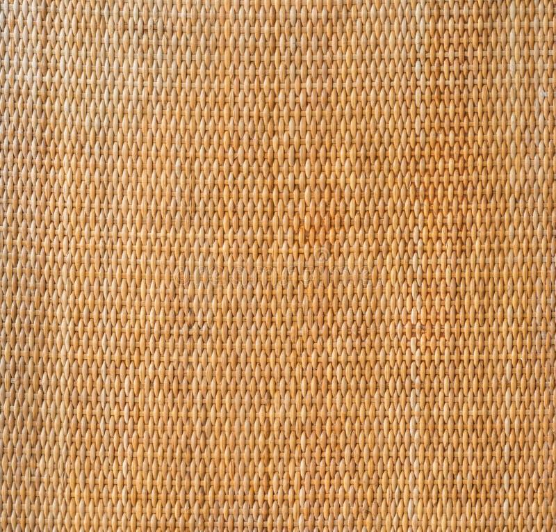 Fundo decorativo do vime marrom s da textura do weave do artesanato imagens de stock royalty free