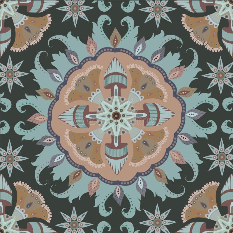 Fundo decorativo do vintage Islã, árabe, indiano, turcos, imagens de stock royalty free