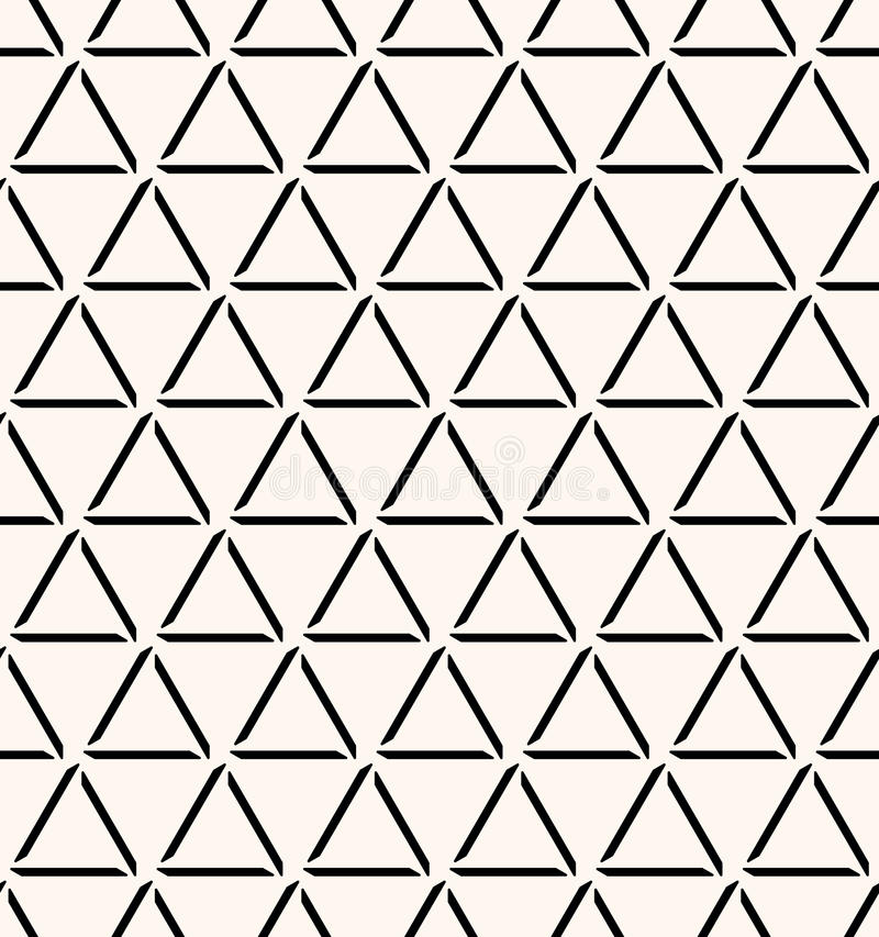 Fundo decorativo geométrico abstrato sem emenda ilustração royalty free