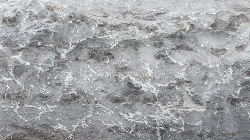 Fundo detalhado da rocha do teste padrão fotografia de stock