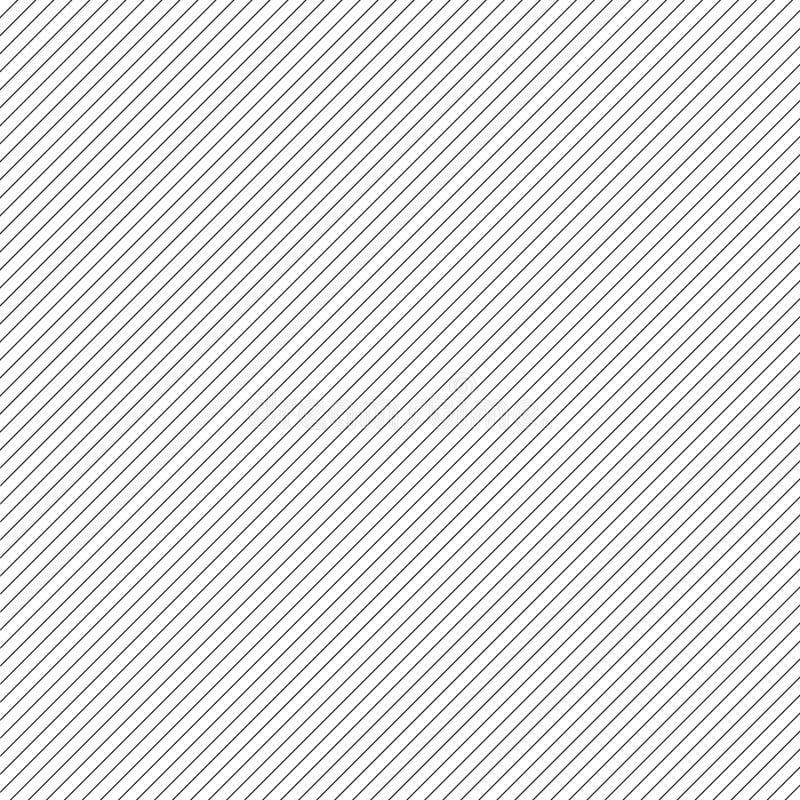 Fundo diagonal fino do vetor das listras ilustração do vetor