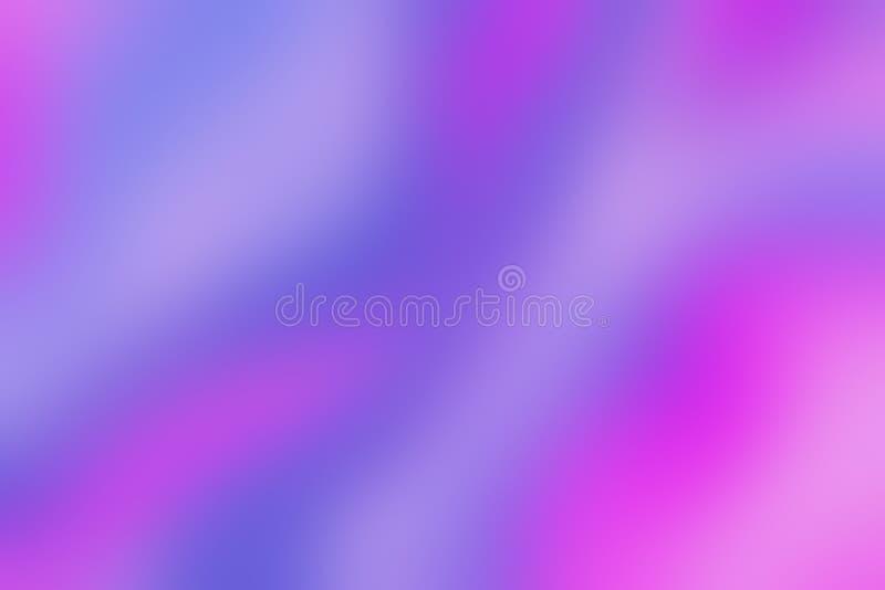 Fundo diagonal obscuro borrado do papel holográfico colorido na moda liso ilustração stock