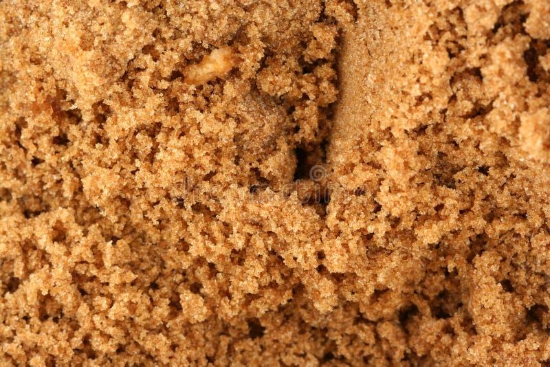 Fundo do açúcar de Brown imagens de stock royalty free