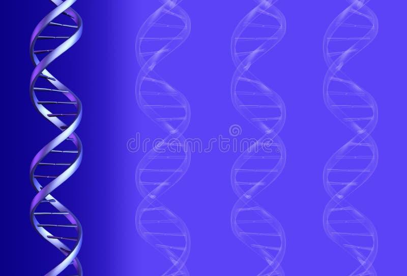 Fundo do ADN ilustração stock