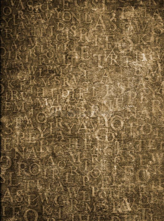 Fundo do alfabeto ilustração do vetor