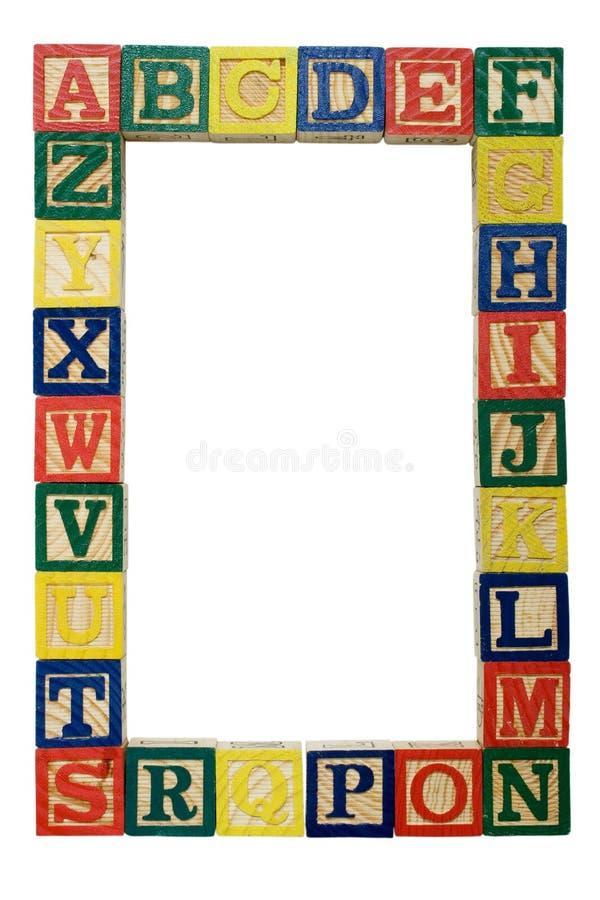 Fundo do alfabeto ilustração royalty free