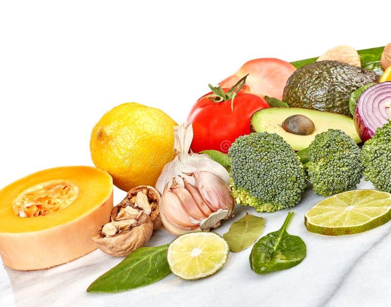 Fundo do alimento dos vegetais imagem de stock royalty free