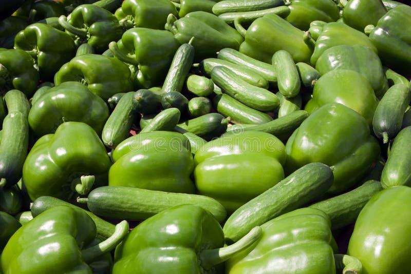 Fundo do alimento verde imagens de stock