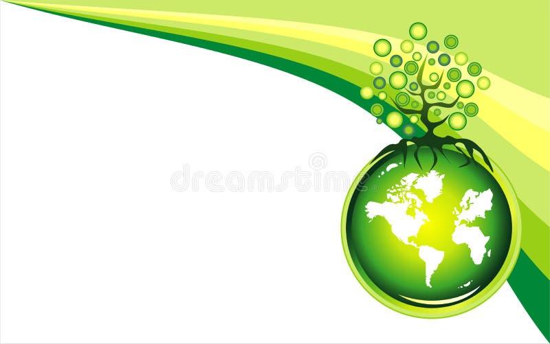 Fundo do ambiente ilustração do vetor