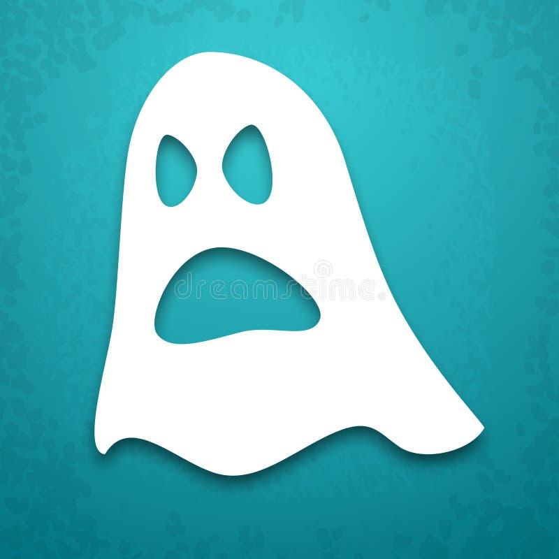 Fundo do applique de Ghost ilustração do vetor