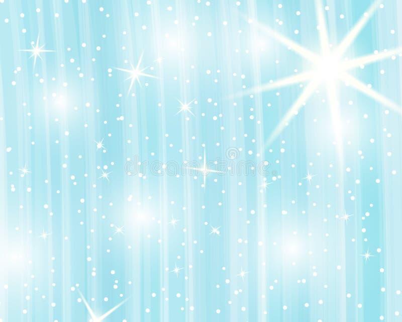 Fundo do arco-íris do unicórnio Céu holográfico na cor pastel Teste padrão brilhante da sereia em cores da princesa Ilustração do ilustração royalty free