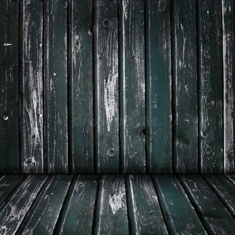 Fundo do assoalho da parede de madeira velha e da placa de madeira para anunciar o mercado e a colocação do produto fotografia de stock royalty free