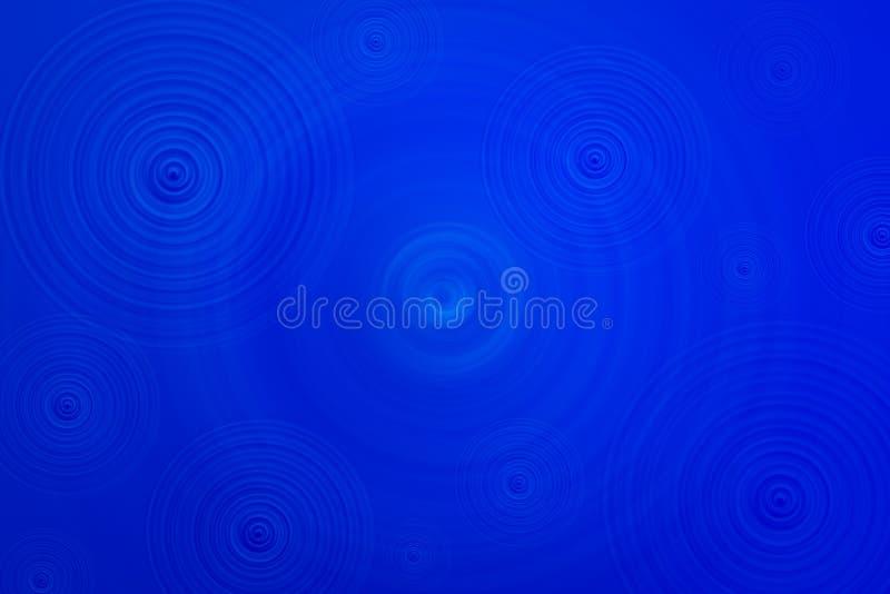 Fundo do azul do redemoinho ilustração do vetor