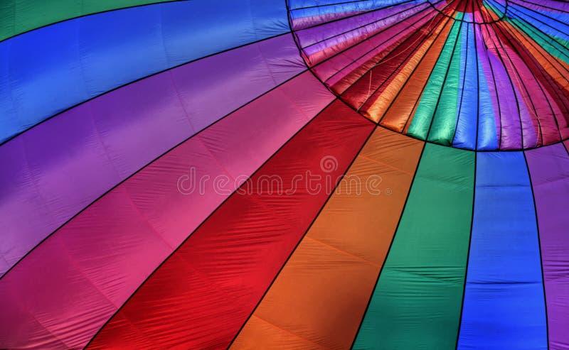 Fundo do balão de ar quente imagens de stock