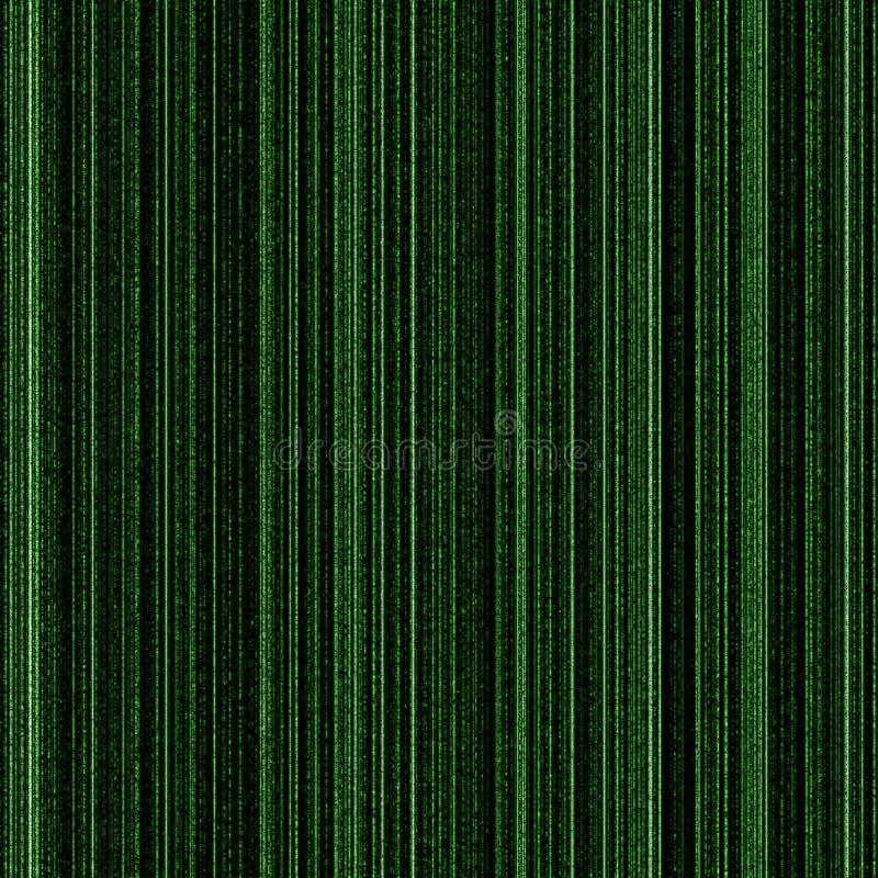 Fundo do binário da matriz foto de stock