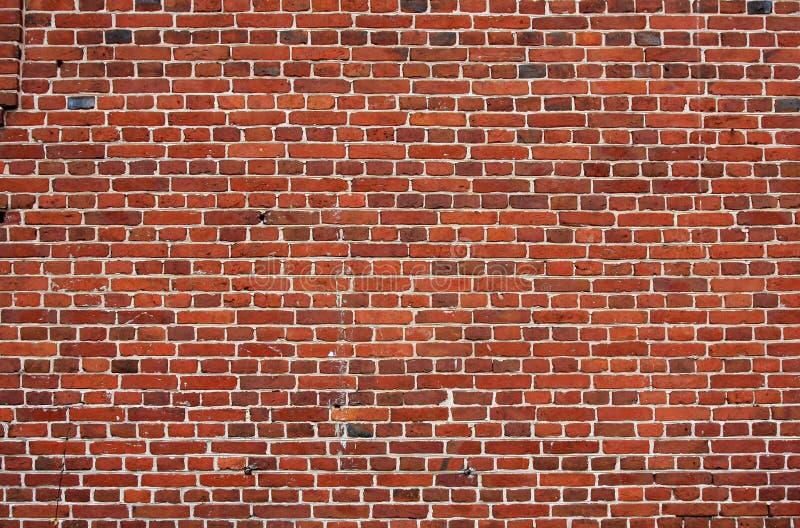 Fundo do bloco. parede de tijolo velha de tijolos vermelhos. imagem de stock