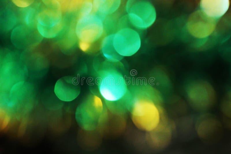 Fundo do borrão do sumário do Natal, bokeh claro foto de stock royalty free